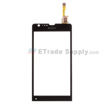For Sony Xperia SP M35h Digitizer Touch Screen Replacement - Black - With Logo - Grade S+