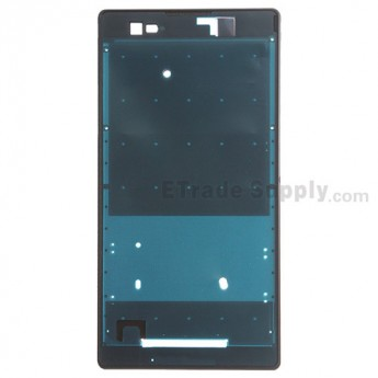 For Sony Xperia T2 Ultra Front Housing Replacement - Black - Grade S+