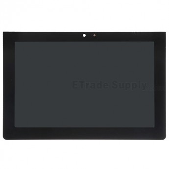For Sony Xperia Tablet S SGPT1311 LCD Screen and Digitizer Assembly Replacement - Black - Without Any Logo - Grade S+