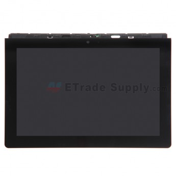For Sony Xperia Tablet S SGPT1311 LCD Screen and Digitizer Assembly with Front Housing  Replacement - Black - Without Any Logo - Grade S+