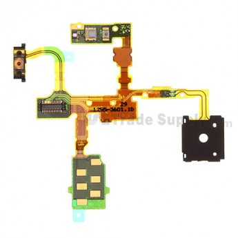 For Sony Xperia TX LT29i Power Button Flex Cable Ribbon  Replacement - Grade S+