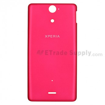 For Sony Xperia V LT25i Battery Door Replacement ,Pink - Grade S+