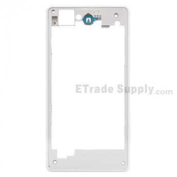 For Sony Xperia Z1 Compact Rear Housing Replacement - White - Grade S+
