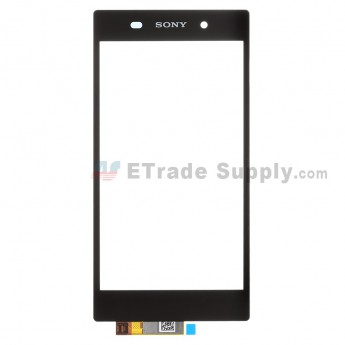 For Sony Xperia Z1 L39h Digitizer Touch Screen Replacement - Black - With Logo - Grade S+