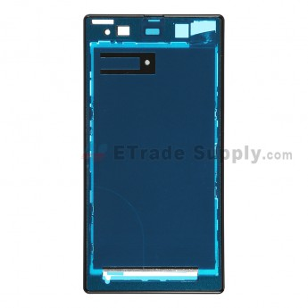 For Sony Xperia Z1 L39h Front Housing Replacement - Black - Grade S+
