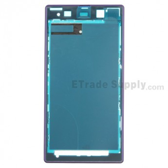 For Sony Xperia Z1 L39h Front Housing Replacement - Purple - Grade S+