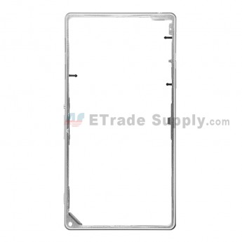 For Sony Xperia Z1 L39h Middle Frame Replacement - White - Grade S+