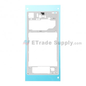 For Sony Xperia Z1 L39h Rear Housing Replacement - White - Grade S+
