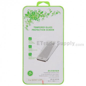 For Sony Xperia Z1 L39h Tempered Glass Screen Protector - Thick: 0.30mm - Grade S+