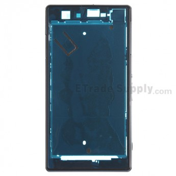 For Sony Xperia Z1S C9616 Front Housing Replacement - Black - Grade S+