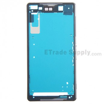 For Sony Xperia Z2 Front Housing Replacement - Black - Grade S+