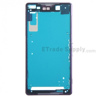 For Sony Xperia Z2 Front Housing Replacement - Purple - Grade S+