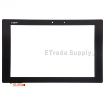 For Sony Xperia Z2 Tablet SGP512 Digitizer Touch Screen Replacement (Wifi Version) - Black - With Logo - Grade A
