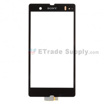 For Sony Xperia Z L36h Digitizer Touch Screen Replacement - Black - With Logo - Grade A
