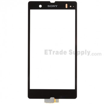 For Sony Xperia Z L36h Digitizer Touch Screen Replacement - Black - With Logo - Grade S+