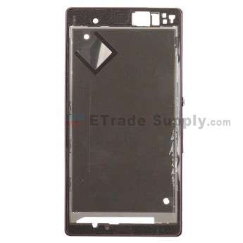 For Sony Xperia Z L36h Front Housing Replacement ,Purple - Grade S+