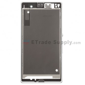 For Sony Xperia Z L36h Front Housing Replacement ,White - Grade S+