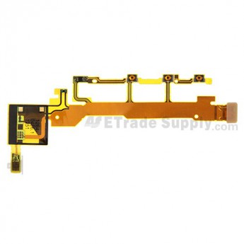 For Sony Xperia Z L36h Side key Flex Cable Ribbon Replacement - Grade S+