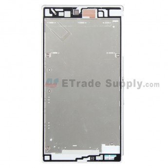 For Sony Xperia Z Ultra XL39h Front Housing Replacement - White - Grade S+