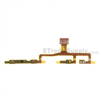 For Sony Xperia ZL L35h Side Key Flex Cable Ribbon Replacement - Grade S+