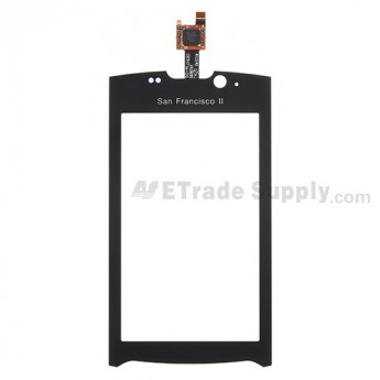 For ZTE Blade II V880+ Digitizer Touch Panel Replacement - With San Francisco II Logo - Grade S+