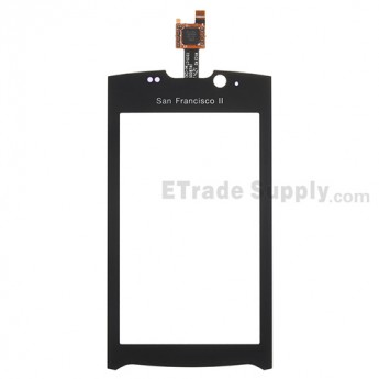 For ZTE Blade II V880+ Digitizer Touch Screen Replacement - With Logo - Grade A