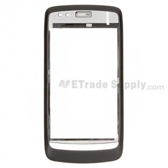 For ZTE Blade V880 Front Housing Replacement - Gray - Grade S+