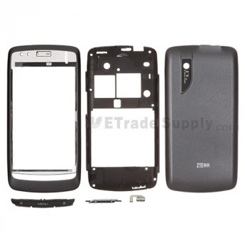 For ZTE Blade V880 Housing Replacement - Gray - Grade S+