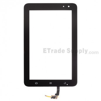 For ZTE Light Tab 2 V9A Digitizer Touch Screen  Replacement - Black - Grade S+