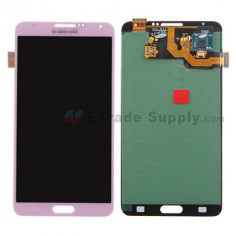For Samsung Galaxy Note 3 N9006/N900/N9005/N900A/N900P/N900T/N900V/N900R4 LCD Screen and Digitizer Assembly Replacement - Pink - Grade S+