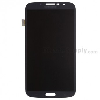 For Samsung Galaxy Mega 6.3 I9200 LCD Screen and Digitizer Assembly Replacement - Black - With Logo - Grade A