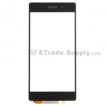 For Sony Xperia Z2 Digitizer Touch Screen Replacement - Black - With Logo - Grade R