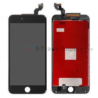 For Apple iPhone 6S Plus LCD Screen and Digitizer Assembly with Frame Replacement - Black - Grade A