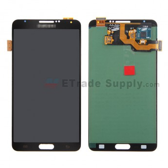 For Samsung Galaxy Note 3 N9006/N900/N9005/N900A/N900P/N900T/N900V/N900R4 LCD Screen and Digitizer Assembly Replacement - Black - With Logo - Grade A