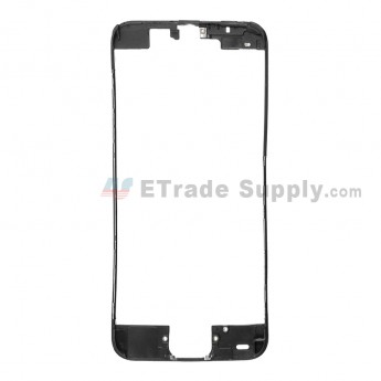 For Apple iPhone 5C Digitizer Frame Replacement - Black - Grade R