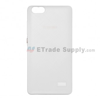For Huawei Honor 4C Battery Door Replacement - White - With Logo - Grade S+