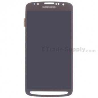 For Samsung Galaxy S4 Active GT-I9295/SGH-I537 LCD Screen and Digitizer Assembly Replacement - Gold - Grade S+