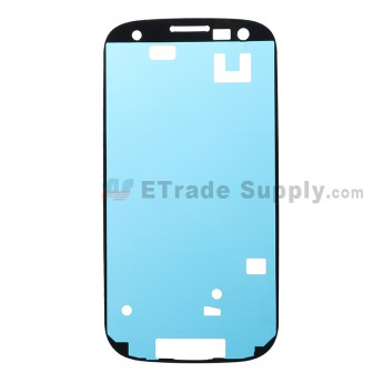 For Samsung Galaxy S III GT-I9300/I9305/T999/I747/R530/I535/L710 Front Housing Adhesive Replacement - Grade S+
