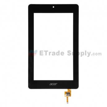 For Acer Iconia One 7 B1-730HD Digitizer Touch Screen Replacement - Black - With Logo - Grade S+