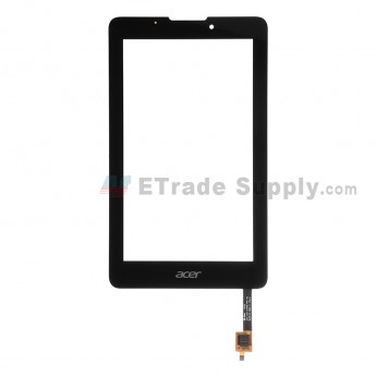 For Acer Iconia Tab 7 A1-713 Digitizer Touch Screen  Replacement - Black - With Logo - Grade S+