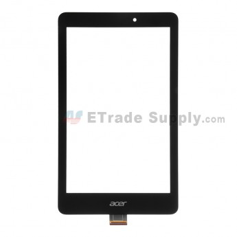 For Acer Iconia Tab 8 A1-840FHD Digitizer Touch Screen  Replacement - Black - With Logo - Grade S+