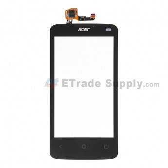 For Acer Liquid Z4 Digitizer Touch Screen Replacement - Black - With Logo - Grade S+