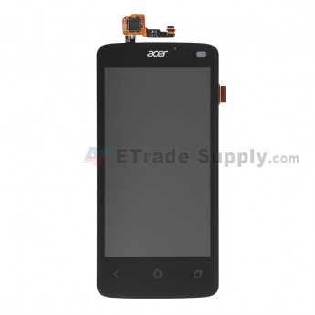 For Acer Liquid Z4 LCD Screen and Digitizer Assembly  Replacement - Black - With Logo - Grade S+