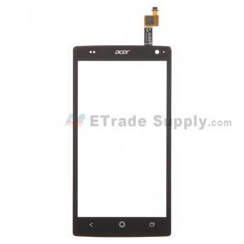 For Acer Liquid Z5 Digitizer Touch Screen  Replacement - Black - With Logo - Grade S+