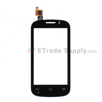 For Alcatel One Touch Pop C3 OT-4033 Digitizer Touch Screen  Replacement - Black - Without Logo - Grade S+