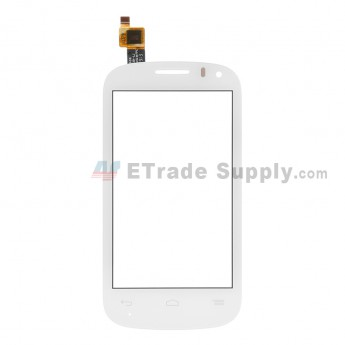 For Alcatel One Touch Pop C3 OT-4033 Digitizer Touch Screen  Replacement - White - Without Logo - Grade S+