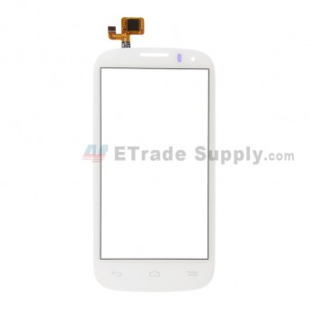 For Alcatel One Touch Pop C5 OT-5036 Digitizer Touch Screen  Replacement - White - Without Logo - Grade S+