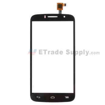 For Alcatel OneTouch Pop Icon 7040T Digitizer Touch Screen  Replacement - Black - Without Logo - Grade S+