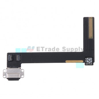 For for Apple iPad Air 2 Charging Port Flex Cable Ribbon Replacement - Black - Grade S+