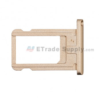 For Apple iPad Air 2 SIM Card Tray  Replacement - Gold - Grade S+